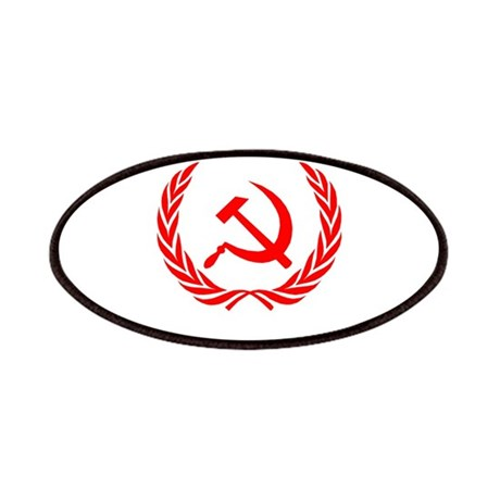 Soviet Wreath Red Patches