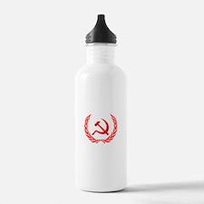 Soviet Wreath Red Water Bottle