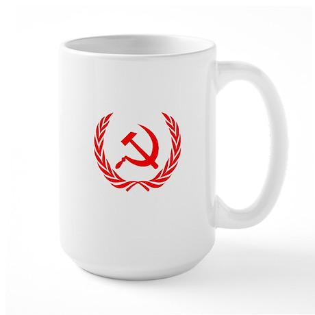 Soviet Wreath Red Large Mug