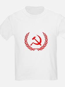 Soviet Wreath Red T-Shirt