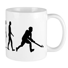 Field hockey evolution Mug