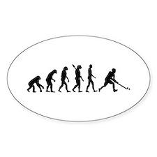 Field hockey evolution Decal