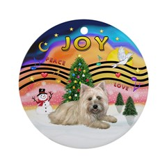 XMusic2-Cairn T(#4) Ornament (Round)