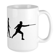 Fencing evolution Mug