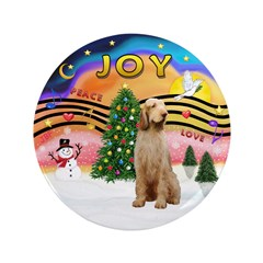 """XMusic2-Spinone (w) 3.5"""" Button (100 pack)"""