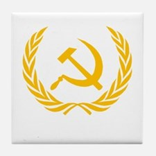 Soviet Wreath Tile Coaster