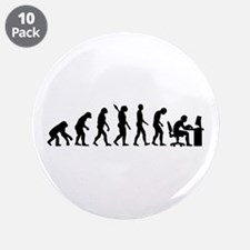 "Computer office evolution 3.5"" Button (10 pack)"