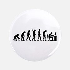 "Computer office evolution 3.5"" Button (100 pack)"
