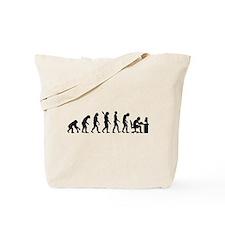 Computer office evolution Tote Bag