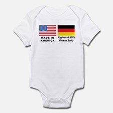 German American Infant Creeper