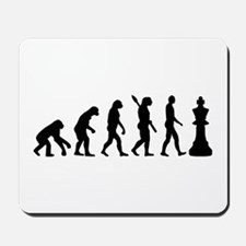 Chess king evolution Mousepad