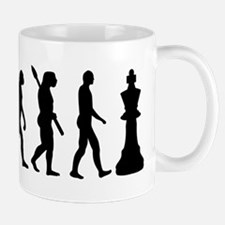 Chess king evolution Mug