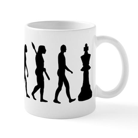 Chess king evolution Mug