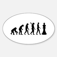 Chess king evolution Decal