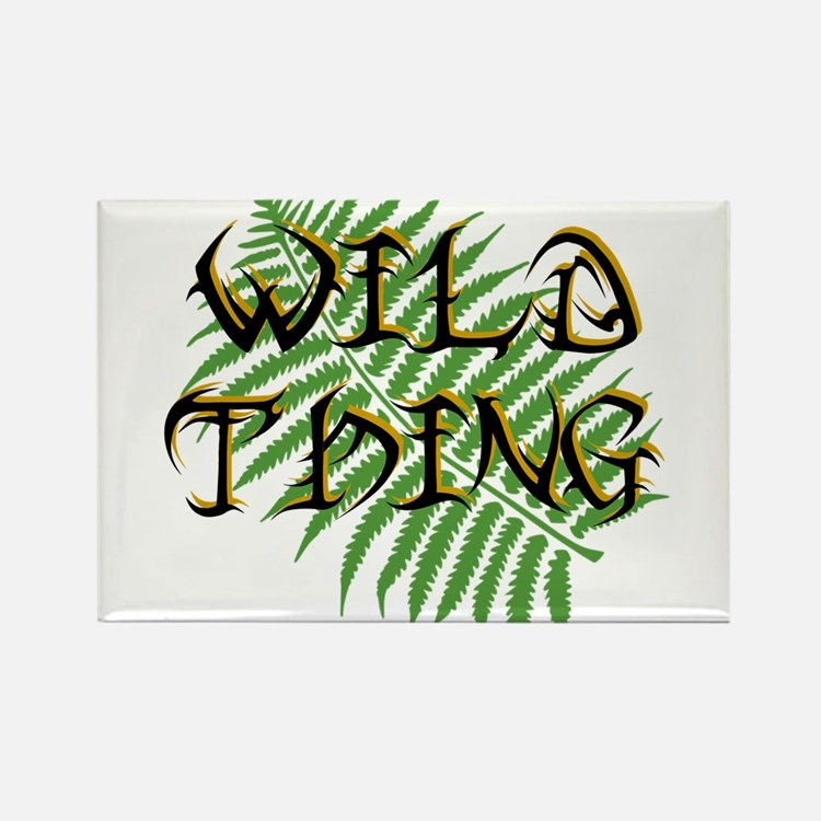Wild Thing Rectangle Magnet (100 pack)