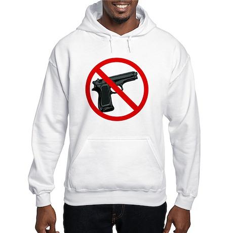 No To Gun Violence Hooded Sweatshirt
