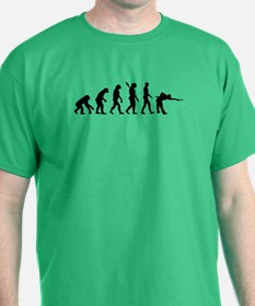 Pool billards evolution T-Shirt