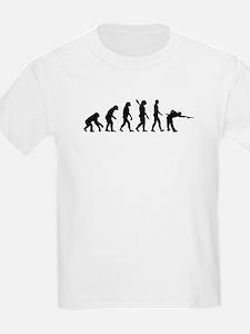 Pool billards evolution T-Shirt