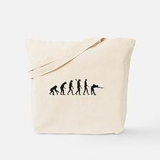 Pool billards evolution Tote Bag