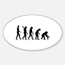 Evolution backwards Decal