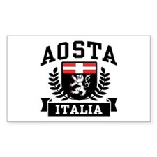 Aosta Italia Decal