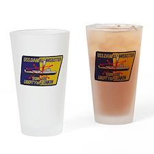 USS DANIEL WEBSTER Drinking Glass
