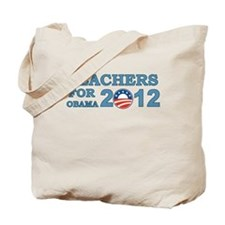 Teachers For Barack Obama 2012 Tote Bag