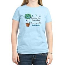 Social worker Butterfly Quote.PNG T-Shirt