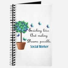 Social worker Butterfly Quote.PNG Journal