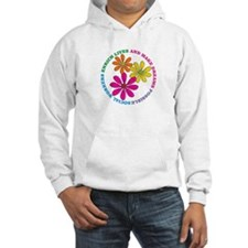 SOCIAL WORKER CIRCLE DAISIES.PNG Hoodie Sweatshirt
