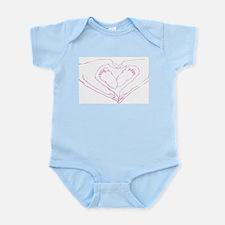 Baby feet love Infant Bodysuit