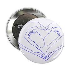 "Baby Love Blue 2.25"" Button"
