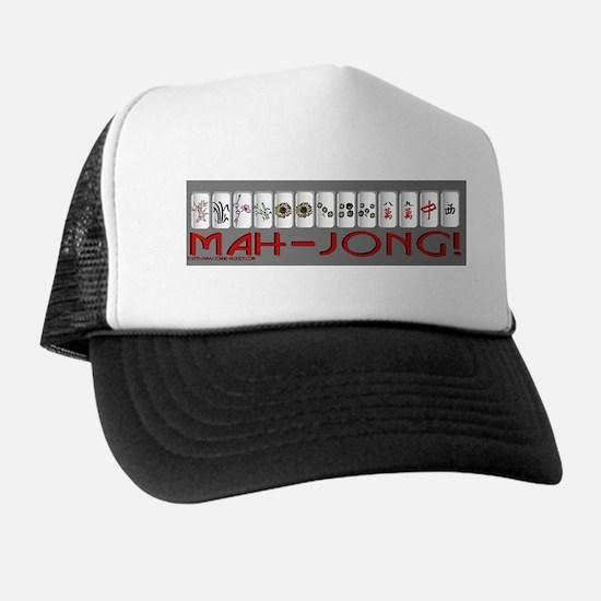 Mahjong GRY Bump Trucker Hat