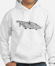 Airplane C-23 Gray.PNG Jumper Hoody