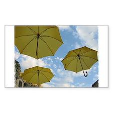 Umbrellas Decal