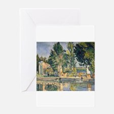 paul cezanne Greeting Card