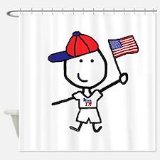Boy & Democrat Shower Curtain