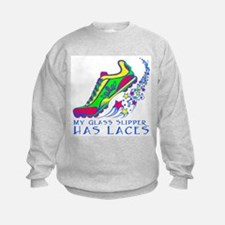 Running Shoe Sweatshirt