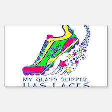 Running Shoe Bumper Stickers