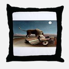 henri rousseau Throw Pillow