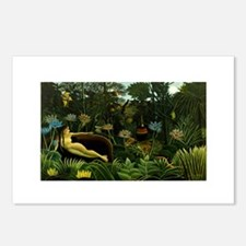 henri rousseau Postcards (Package of 8)