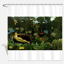 henri rousseau Shower Curtain