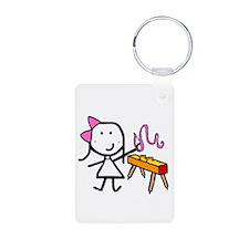 Girl & Gymnastics Keychains