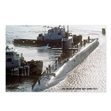 USS FRANCIS SCOTT KEY Postcards (Package of 8)