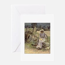 theodore robinson Greeting Card
