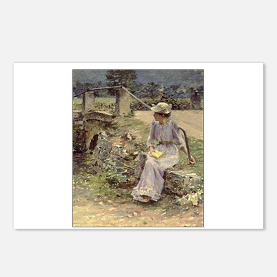 theodore robinson Postcards (Package of 8)