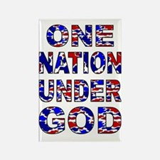 One Nation camo Rectangle Magnet