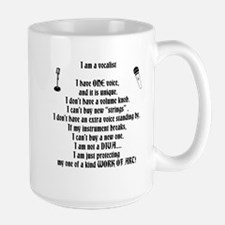 I am a vocalist Mug