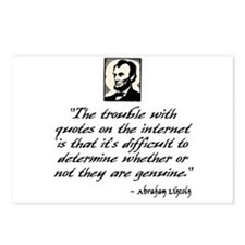 Lincoln Quote Postcards (Package of 8)
