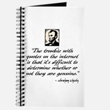 Lincoln Quote Journal